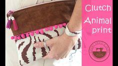 Clutch animal print, el bolso de mano de moda