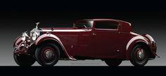 A 1933 Rolls-Royce Phantom II Continental Sports Coupe with coachwork by Freestone & Webb.