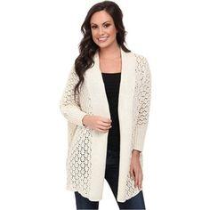 Lucky Brand Textured Cocoon Cardigan (#2413 Nigori) Women's Sweater