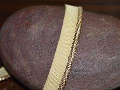 Gold Jari / Gota Patti Piping Cord Piping by Indianlacesandfabric