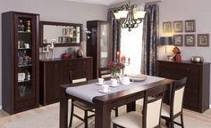 Jadalnia PREMIS, kasztan  #meble #dom #wnetrza #wystrój #mieszkanie