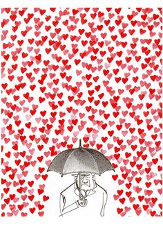 It's raining love!