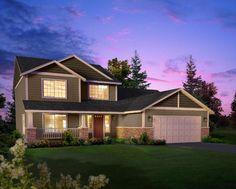 Properties - Plan 2302 | Hiline Homes $134,900 2302 sq. ft 4 bed/2.5 bath garage: 22' x 22'