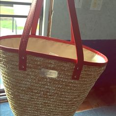 Laura Gellar Purse/Tote NWOT Beautiful 2pickets inside NWOT Never Used Great for a night out or the Beach!!!! Laura Gellar Bags Totes