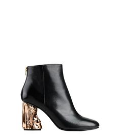 Acne Studios Ora Copper Heel Boot