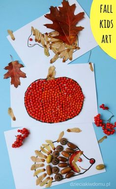 Jesienne wyklejanki – pomysły na prace plastyczne dla dzieci | Dzieciaki w domu