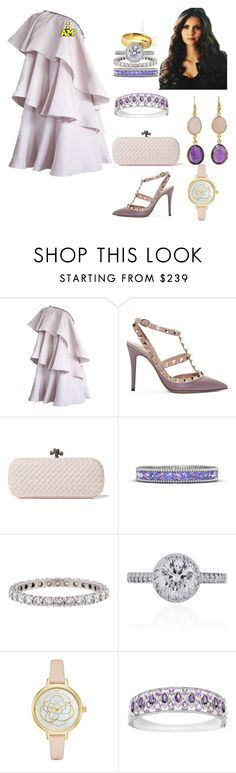 """2024 - Closing Ceremony"" by dezac-novaes on Polyvore featuring Lanvin, Valentino, Bottega Veneta, Gemvara, Tiffany & Co., Kate Spade and NOVICA"