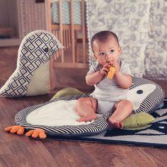 Penguin cuddles are the best cuddles! #nursery #pillow #cuddle #newborn