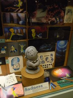 "Concept Art Exhibit for PIXAR's ""Inside Out"" (March 26, 2015) Via WDW News Today"