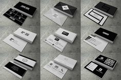 30 Modern Business Cards by Mayde on @creativemarket