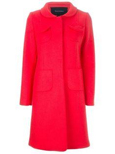 TARA JARMON Button Up Coat
