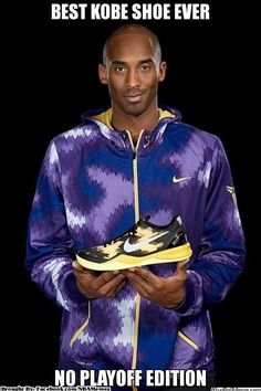 Best Kobe Shoe Ever // No Playoff Edition #Lakers #LakeShow #Nba