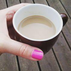Ott a kávém mosolya!!! :)