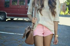 summer casual-love love love the shorts