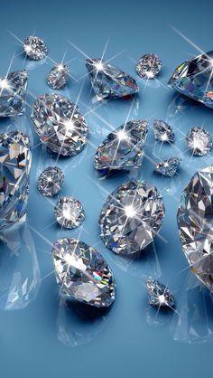 Wallpaper. shine diamonds