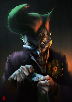 The Joker by Khasis Lieb *