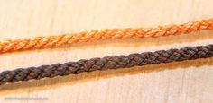 Plain laid ropes from mm up to cable laid ropes 2 mm - Masting, rigging and sails - Model Ship World by the Nautical Research Guild Curtain Rails, How To Make Rope, Thread Crochet, Fly Tying, Ropes, All The Colors, Nautical, Cable, Ship