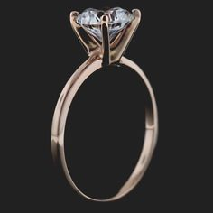 A gemstone solitaire may be the essential diamond engagement ring. Although other diamond engagement ring settings fall and rise in recognition, a solitaire ring is really a classic with constant, … Engagement Rings Under 1000, Engagement Solitaire, Engagement Ring Settings, Unique Diamond Rings, Diamond Solitaire Rings, Unique Rings, Tiffany Solitaire, Solitare Ring, Beautiful Rings