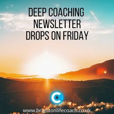 This month's Deep Coaching newsletter is all about what to do when everything falls apart and how moments of crisis can become the most important creative moments of your life.  There's still plenty of time to subscribe and you'll get my free ebook packed full of insight and information when you do. Link in my bio.  #newsletter #advice #free #deepcoaching #lifecoach #lifecoaching #brighton #truth #woke #writing #help #crisis #lost #confused #hope #happiness