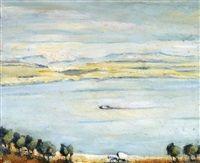 Sea of Galilee Landscape, Kaete Ephraim Marcus