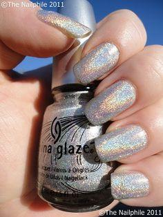 It's a nail polish and a rainbow. A Nail-bow. Or a Rainail. In any case, it rocks.
