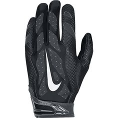 7992ae7f741 Nike Youth Vapor Jet Football Gloves Black 02 - Football Equipment
