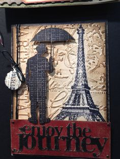 card using tim holtz products