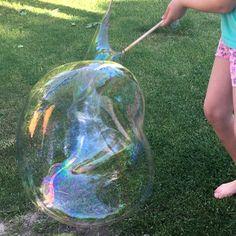 ENDLICH! Das perfekte Rezept für Riesenseifenblasen!