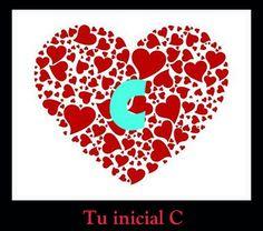 Letra de Alfabeto C - Las iniciales de tu nombre C. Fotos de Corazones en Letra de Alfabeto. Bellas Iniciales Para tu Nombre en Facebook. Iniciales para etiquetar tu nombre.