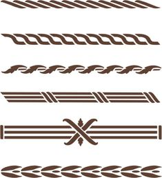 Now you can add beautiful, classic designs to furniture legs, table tops, cabinetry and small craft projects with this easy to use stencil set. GREAT for adding designs to items you plan to sell! Stencil Patterns, Stencil Designs, Paint Designs, Arabesque, Free Stencils, Painted Furniture, Furniture Legs, Furniture Stencil, Cricut Creations