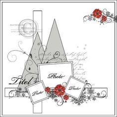 Love this idea for a Christmas scrapbook page all Iwant for Christmss is Scrapbook Layout Sketches, Scrapbook Templates, Scrapbook Designs, Card Sketches, Scrapbooking Layouts, Sketch 2, Scrapbook Patterns, Owl Templates, Photo Sketch