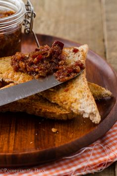 You had me at bacon!  This recipe for Whiskey Bacon Jam is actually super-quick to make.  Let's just call this Whiskey Bacon Jam the King of the Relish.  Pass the toast…