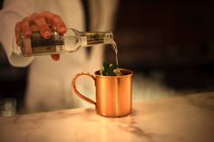 Moscow Mule #theguesthousevienna #bar #vienna #travel #designhotels