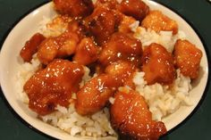 The Pursuit of Happiness: Crock Pot Orange Chicken
