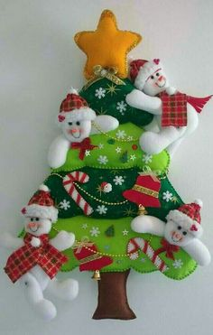 Felt Christmas Decorations, Christmas Signs, Tree Decorations, Christmas Stockings, Holiday Decor, Snowman Crafts, Felt Crafts, Diy And Crafts, Christmas Sewing Projects