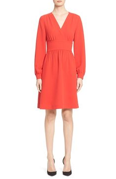 kate spade new york long sleeve tie dress available at #Nordstrom