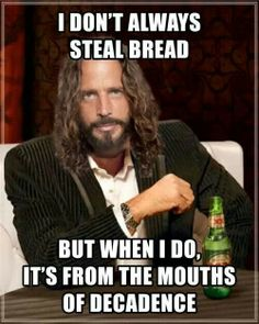 "Chris Cornell Temple of the Dog ""Hunger Strike"" Music Love, Music Is Life, My Music, Music Memes, Music Quotes, Life Quotes, Soundgarden Lyrics, Chris Cornell Music, Temple Of The Dog"