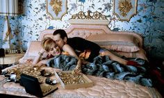 "Robert De Niro & Sharon Stone in ""Casino"""