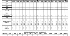 Free Customizable, Editable Nurse Brain Sheets