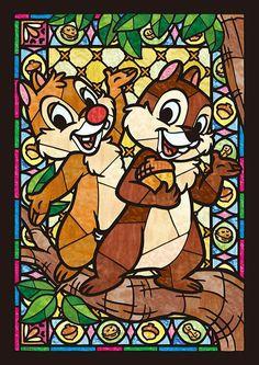 Diamond Painting Disney Chip and Dale Kit Disney Pixar, Walt Disney, Cute Disney, Disney Animation, Disney Cartoons, Disney Magic, Disney Art, Disney Collage, Disney Villains