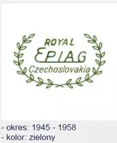 Epiag Porcelain From Czechoslovakia