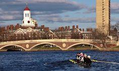 Harvard's Women Crew team! On the Charles River, Cambridge MA