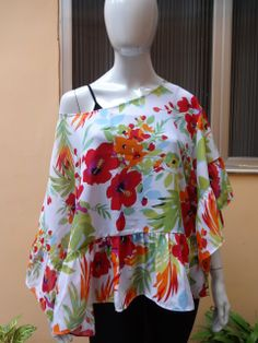 Blusa de Musseline, com babados! Verão http://www.carolinapeclat.iluria.com