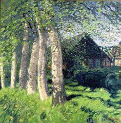 Hans am Ende - Spring in Worpswede