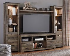 Signature Design by Ashley Trinell Entertainment Centers W44