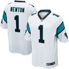 nfl jersey sales by team Youth Carolina Panthers Cam Newton Nike White Game  Jersey f2e37f00e