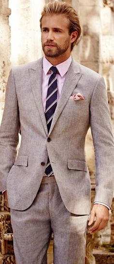 You can't skimp when it comes to going out! Men's suit | Tom Bull for CESPINS ❤