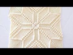 Crochet Pillow Patterns Free, Crochet Bedspread Pattern, Crochet Cushions, Granny Square Crochet Pattern, Crochet Patterns For Beginners, Crochet Patterns Amigurumi, Crochet Mandala, Filet Crochet, Crochet Motif