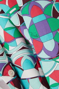Emilio Pucci - Printed Cotton-poplin Shirt - Mint