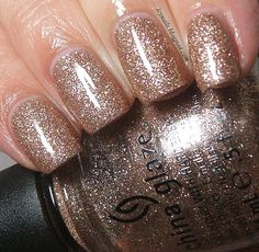 China Glaze Champagne Kisses: Swatch and Review - Notes from My Dressing Table